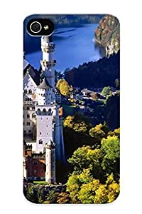 Awesome 744fcbe6675 Downturnvver Defender Tpu Hard Case Cover For Iphone 4/4s- Castles Tower Arhitecture Castle Fortres World Building Tample