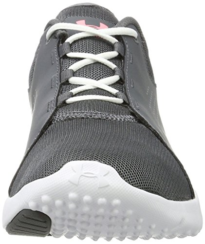 Under Armour Frauen-Kader Rhino Grau / Weiß / Cape Coral