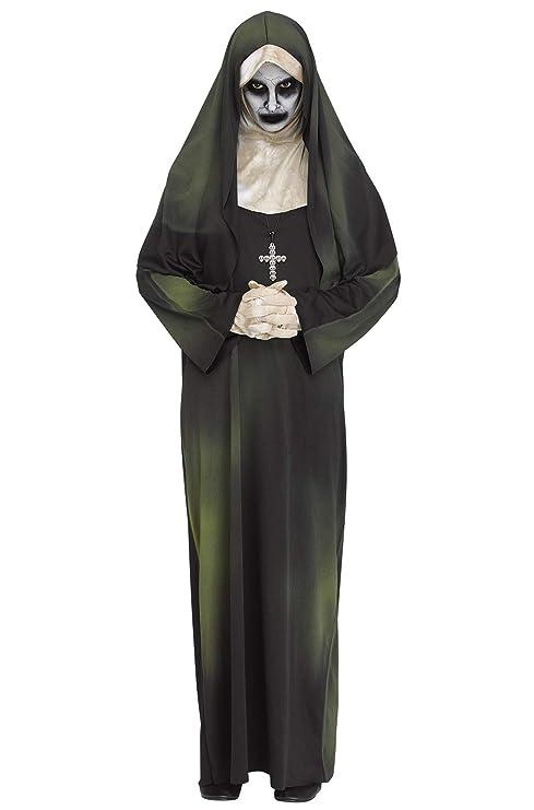 Fun World Disfraz de Monja Fantasma para Mujer, para Halloween ...