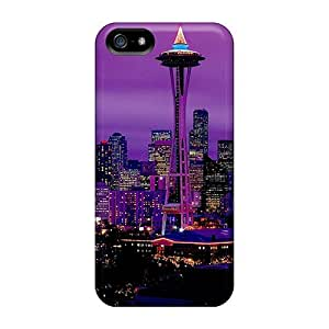 New Diy Design Purple City For SamSung Note 4 Phone Case Cover Comfortable For Lovers And Friends For Christmas Gifts
