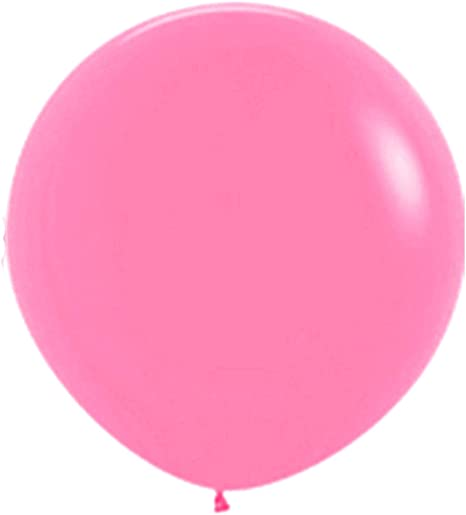 Allydrew 36 Inch Latex Balloons Clear 5 pack