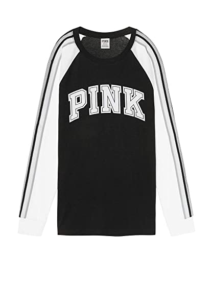 37c290d411862 Victoria s Secret Pink New! Long Sleeve Campus TEE