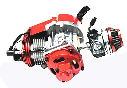 Sican Upgraded 49cc Air Cooled Racing Engine 2 Stroke For Mini Motor ATV Quad Dirt