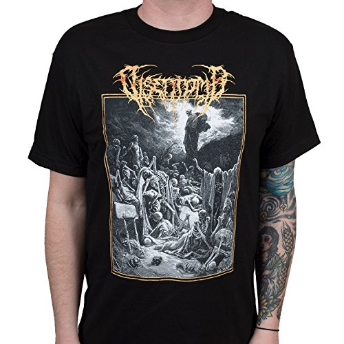 IndieMerch Disentomb Men's Band Sermons of Gloom Death Metal Black T-Shirt M (Metal Band T-shirt)