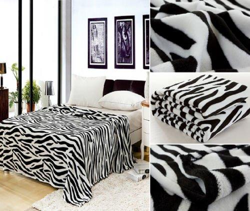 Zebra Throw Blanket - 6