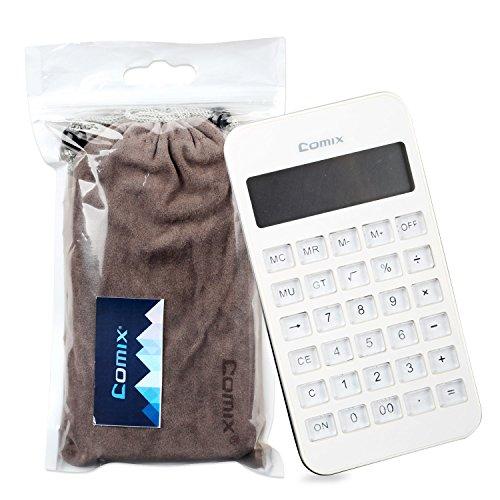 comix C-4S 10-Digit Display white Desktop Calculator Handheld Pocket Calculator