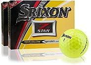 Srixon Z Star 5 Yellow Golf Balls- Double Dozen