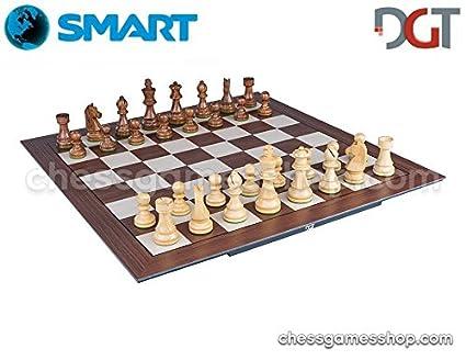 Amazon com: DGT SMART Board WI + Wooden Timeless e-pieces