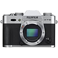 Fujifilm X-T10 Body Silver Mirrorless Digital Camera - International Version (No Warranty)