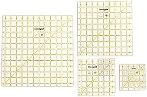 Omnigrid Ruler Value Pack 1, Package of Four