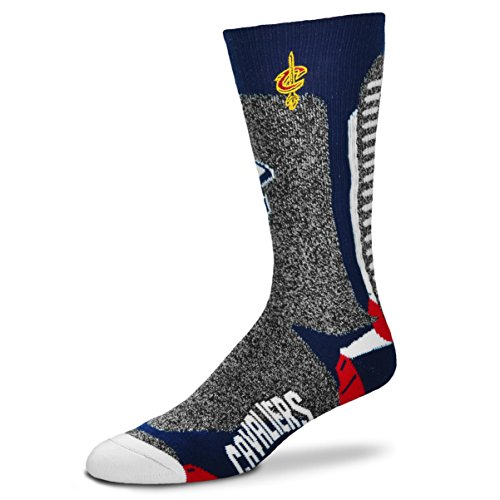 For Bare Feet NBA-Downtown Socks-Cleveland Cavs