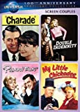 Screen Couples Spotlight Collection : Charade / Double Indemnity / Pillow Talk / My Little Chickadee (Universal's 100th Anniversary)