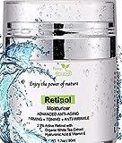 Petra Organics Retinol Cream for Face and Eye Area - 71% Organic