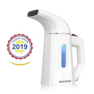 MASTEAM Steamer for Clothes, Portable Travel Garment Steamer, Mini Handheld Clothing Steamer, Clothes Wrinkle Remover with Automatic Shut-Off Safety Protection