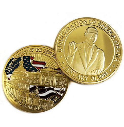 President Barack Obama Commemorative Coin Challenge Coins Novelty Coin Gold Plated Commemorative Challenge Coin
