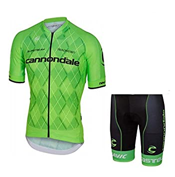 2016 New Style Cannondale Team Green Cycling Clothing Kit Mens Summer Bike  Ciclismo Maillot Big Size Cycling Jerseys (Suit 75c128dea