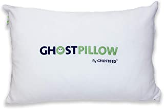 product image for GhostPillow by GhostBed | Faux Down Pillow | Down Alternative Pillow | The Teddy Bear of Pillows | Soft & Huggable Design | Fully Washable