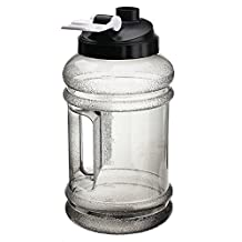 Bazaar 2.2L Big Mouth BPA Water Bottle Free Sport Gym Training Drink Water Bottle Cap Kettle Workout
