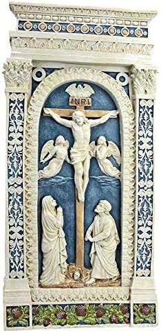 Design Toscano Crucifixion 1521 Wall Sculpture