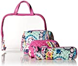 Vera Bradley Iconic 4 Pc. Cosmetic Set, Signature Cotton, Wildflower Paisley
