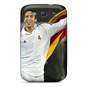 Saraumes Perfect Tpu Case For Galaxy S3/ Anti-scratch Protector Case (real Madrid Raul)