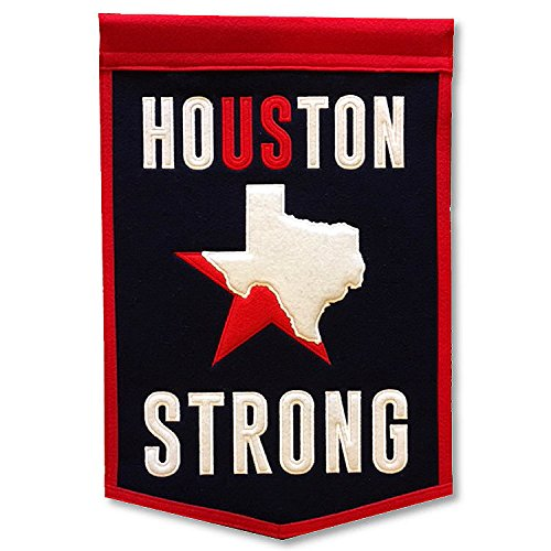 Winning Streak Houston Strong 12x18 Embroidered Banner and - Winning Nfl Streaks
