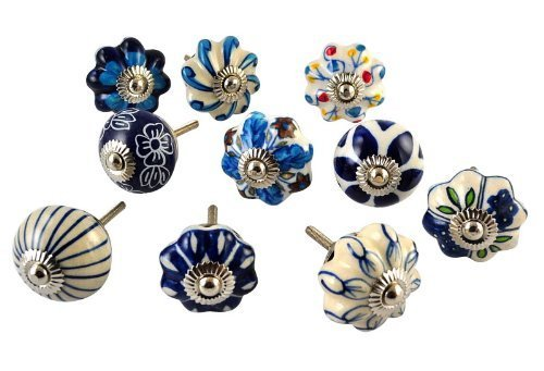 Hand Painted Cabinet Knobs - 9