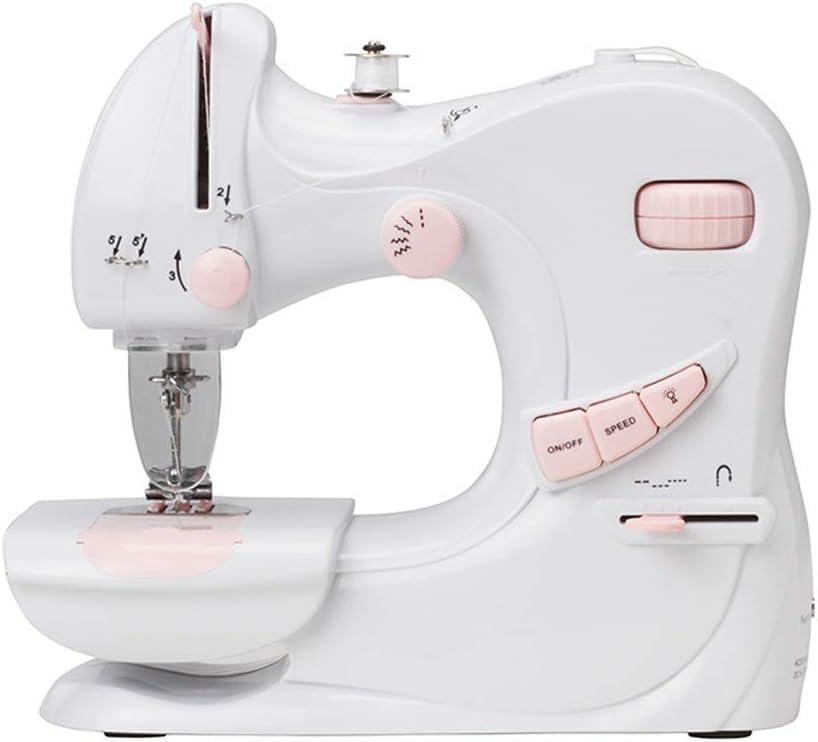 Mini Máquinas De Coser Portátiles De Mano Stitch Sew Needlework Máquina De Coser Eléctrica para Principiantes
