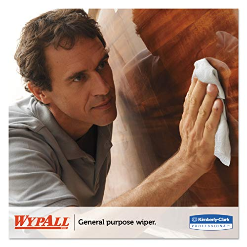 WypAll 05860 L40 Towels, Dry Up Towels, 19 1/2'' x 42'', White (Roll of 200 Towels) by Wypall (Image #6)