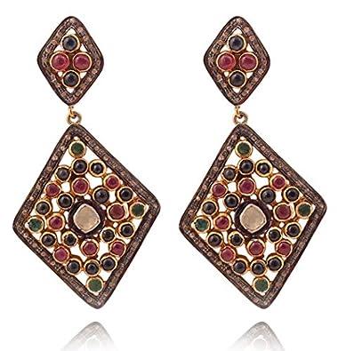 1d35584868c81 Buy Beautiful Emerald, Diamond Polki & Rosecut Diamond, Ruby ...