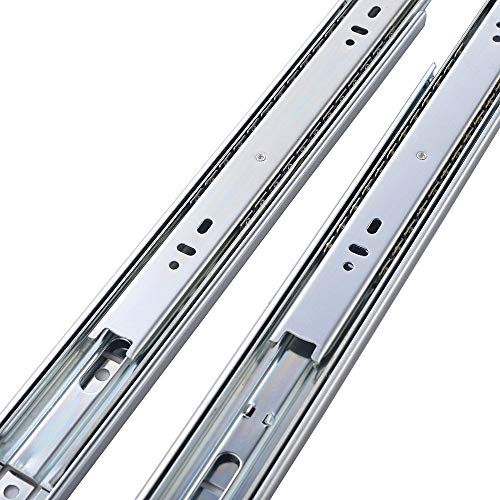 Cuaulans 10 Pair 22'' Full Extension Side Mount Ball Bearing Sliding Drawer Slides, Mounting Screws Included, Available in 10'', 12'', 14'', 16'', 18'', 20'' and 22'' Lengths by Cuaulans (Image #5)