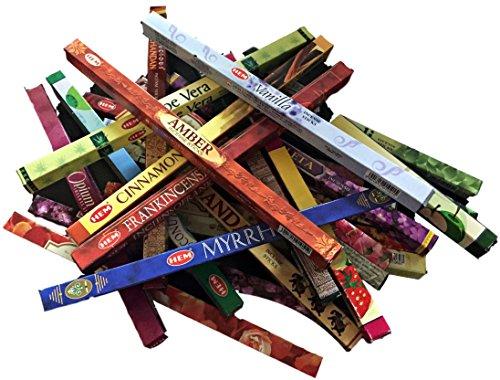 Hem Incense Sticks Multi Pack Selection -14 Aromas- Boxes-10g per Box...