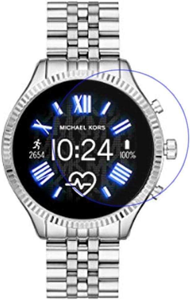Disscool Protector de Pantalla Cristal Templado para Michael Kors Access Lexington 2.0.33mm Espesor con Vidrio Real