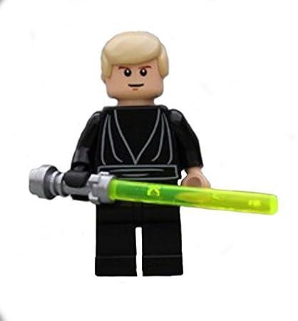 Amazoncom Lego Star Wars Luke Skywalker Black Jedi From 10212