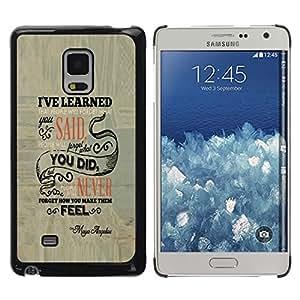 Caucho caso de Shell duro de la cubierta de accesorios de protección BY RAYDREAMMM - Samsung Galaxy Mega 5.8 - La gente se olvidará