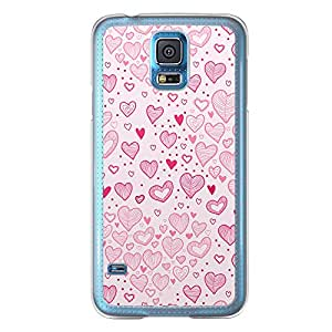 Loud Universe Samsung Galaxy S5 Love Valentine Printing Files A Valentine 166 Printed Transparent Edge Case - Pink