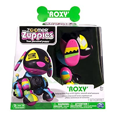 Zoomer Zuppies Interactive Puppy - Roxy: Toys & Games