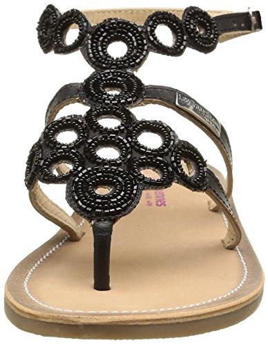Les Tropéziennes par M. Belarbi Ofelie, Women's Sandals Black (Noir)