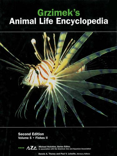 Grzimek's Animal Life Encyclopedia, Vol. 5: Fishes II, 2nd Edition