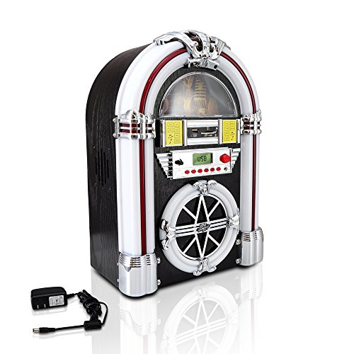 Pyle PJUB25BT Bluetooth Jukebox Lighting