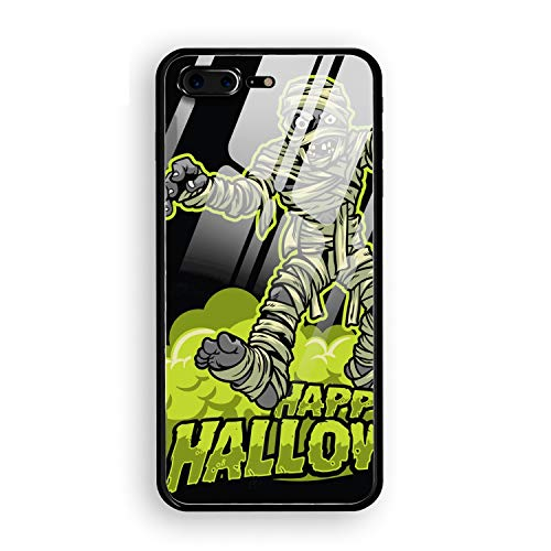 iPhone 7/8 Plus Case for Fit Ultra-Thin Anti-Scratch Shock Proof Dust Proof Anti-Finger Print PC Case Halloween Mummy -