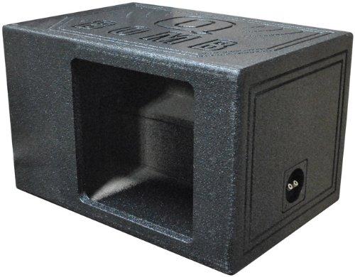 Q Power QBOMB12VL SINGLE SQ Single 12-Inch Side Ported Speaker Box for Kicker L7 - Speaker Ported Box