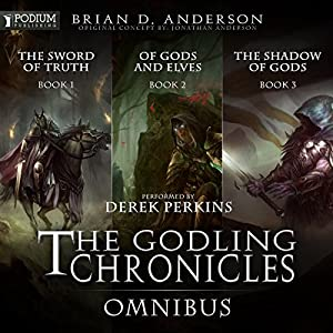 The Godling Chronicles Omnibus Audiobook