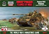 War Gaming - Panzer IV H Platoon by Flames of War
