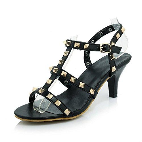 MJS01294 Noir Pour Sandales 1To9 EU Inconnu 38 Femme 5 zq7w8Z