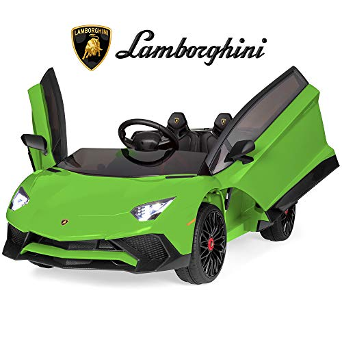 Great Features Of Best Choice Products Kids 12V Ride On Lamborghini Aventador SV Sports Car Toy w/ P...