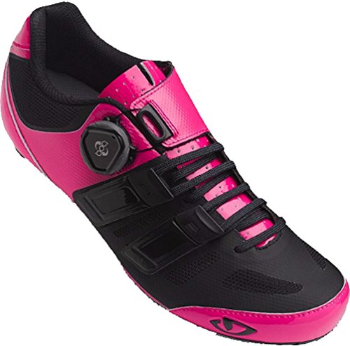 Giro Raes Techlace Cycling Shoe - Women's Bright Pink/Black 42 ()