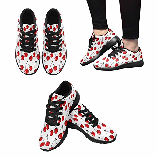 Interestprint Mujeres Jogging Running Sneaker Ligero Go Easy Walking Comfort Calzado Deportivo Multi 5