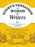img - for Roget's Thesaurus of Words for Writers: Over 2,300 Emotive, Evocative, Descriptive Synonyms, Antonyms, and Related Terms Every Writer Should Know book / textbook / text book