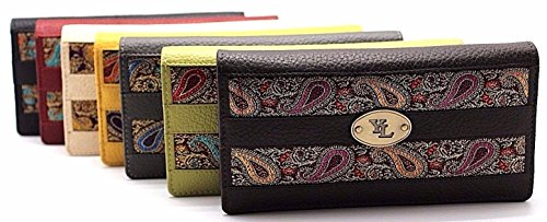 Brand New Lot of 100 Yaali YL Women Zip Around Clutch Wallet Purse New in Box Great item for Christmas Gift for Her or Staff Co- Workers by Juzar Tapal Collection